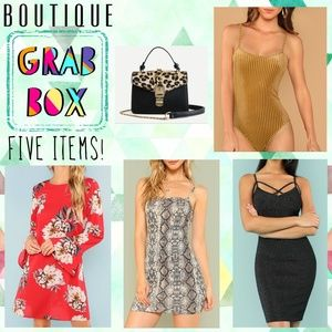 5 ITEMS RESELLERS BOUTIQUE GRAB BOX!